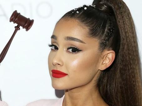 Ariana Grande recibe una bofetada con 2 pleitos