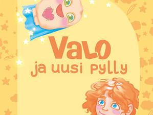 Valo ja uusi pylly -lastenkirja kertoo lapsen avanneleikkauksesta
