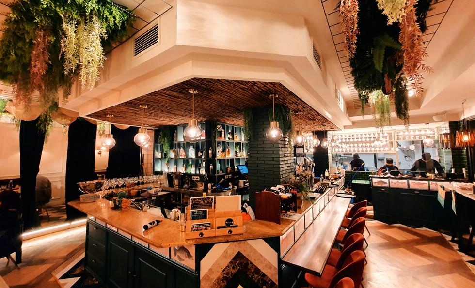 Restaurante fusión japonés filipino Kasiba Madrid