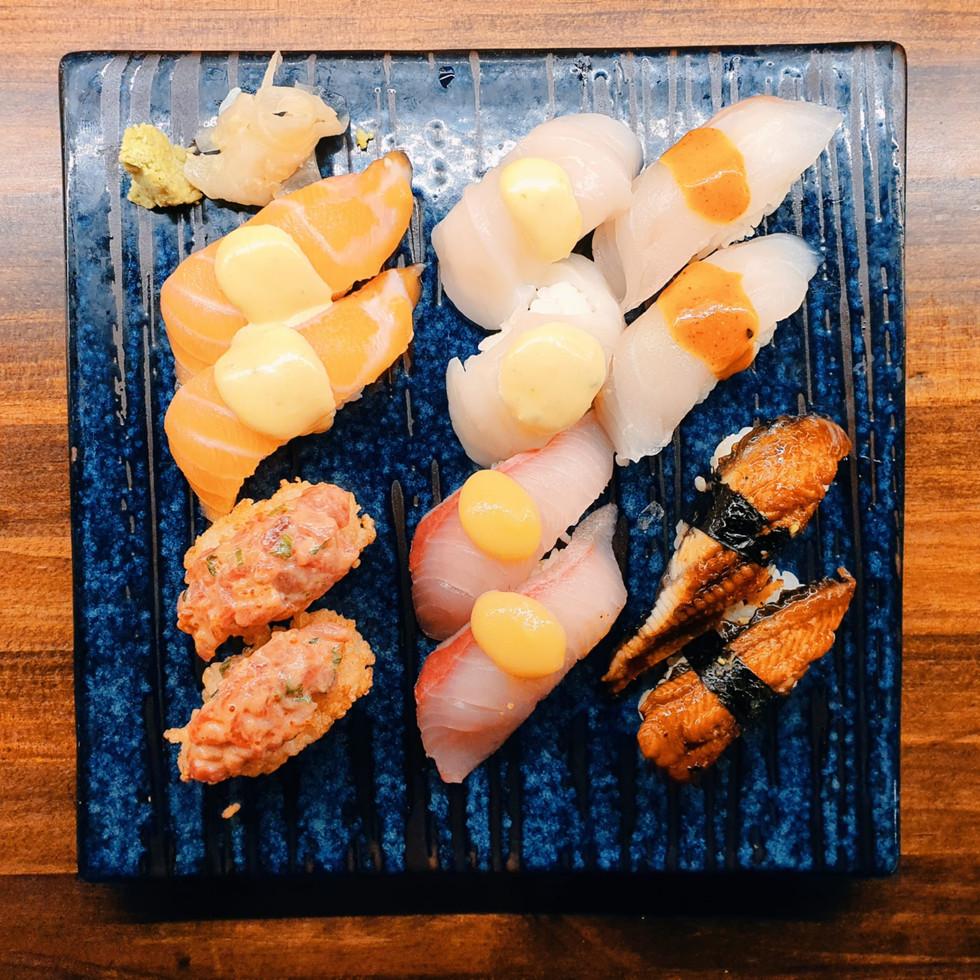 Nigiri 12 Sushi | Restaurante fusión japonés filipino Kasiba Madrid