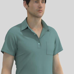 Tuck Pleats, Collar