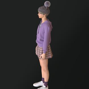 Coordinate Cap and Socks