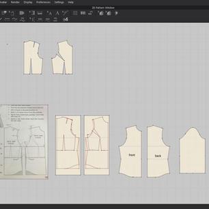 Casual Shirt Pattern Making