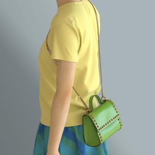 Cross Body Chain Strap Bag