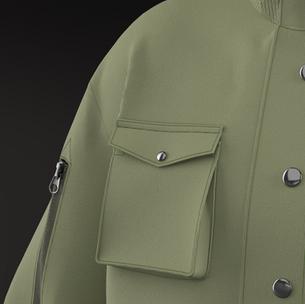 Cargo Flap Pocket