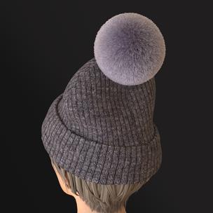 Beanie Pom Pom Hat