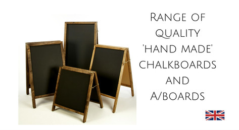 We sell chalkboards