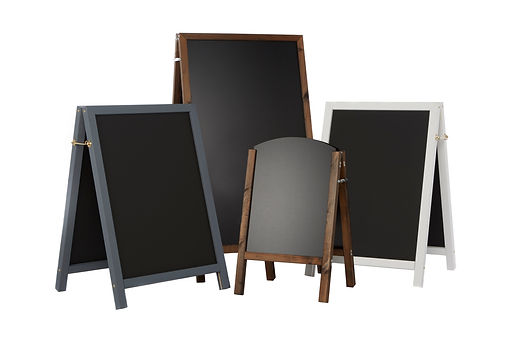 A range of our Chalkboards