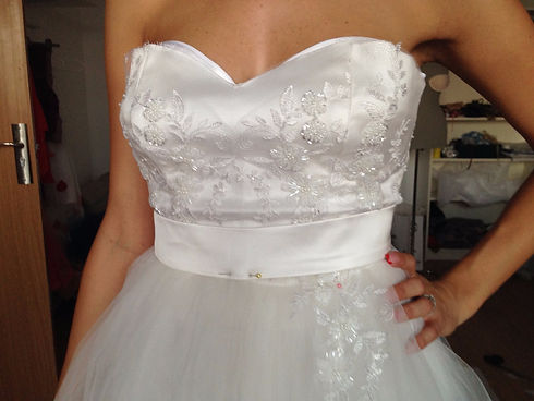 bespoke wedding dress Oxfordshire