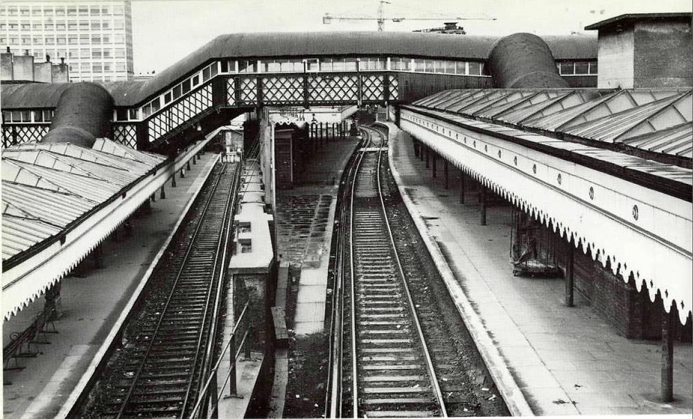 London Bridge's platform 7 pre 1993