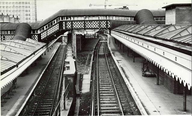 MISSING PLATFORM 7 AT LONDON BRIDGE TRAIN STATION REVEALED