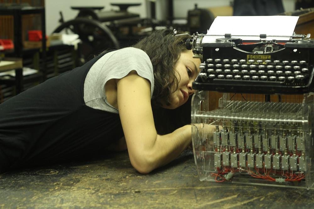 Silent Cacophony-Typewriter 17 by PhotograFae