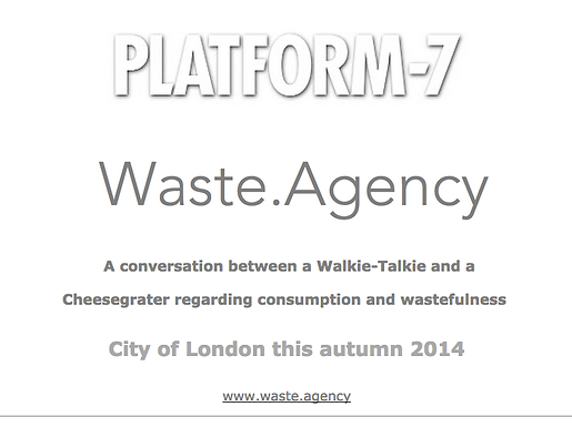 THE WASTE.AGENCY TEASER