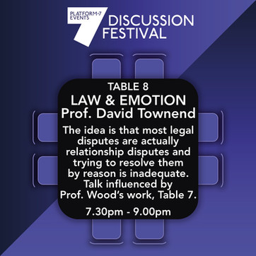 TABLE 8: Law and Emotion