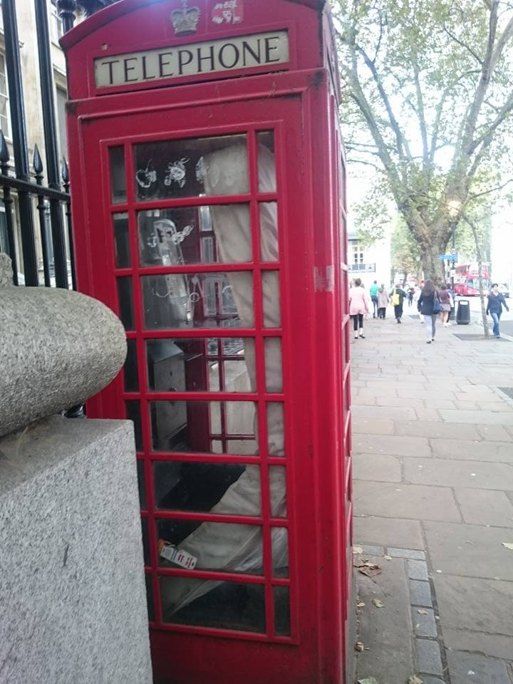 Mattress in Phone Box, Photo by Clodagh Miskelly