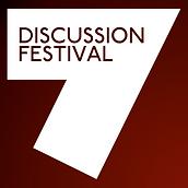 P7E DF Discussion Festival 7 Square Logo