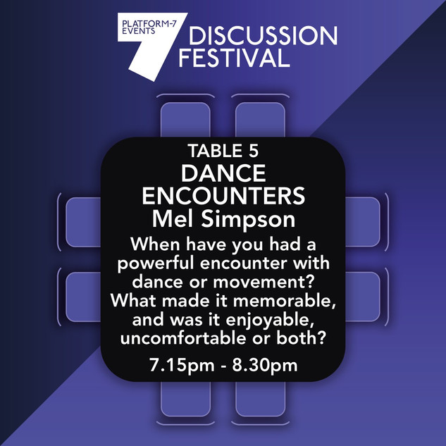 TABLE 5: Dance Encounters
