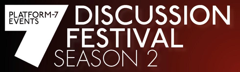 Discussion Festival Season 2 Banner