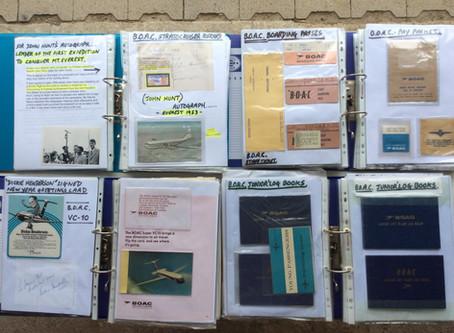 Help to enlarge the Speedbird collection