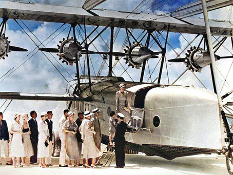 Romancing the Clippers - An excerpt from THE GOLDEN AGE OF FLYING BOATS by Peter Pigott