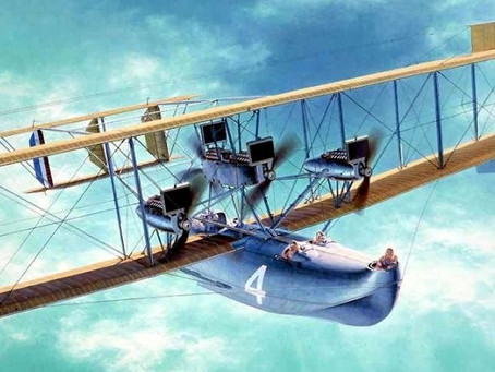 THE MAN WHO INVENTED FLYING BOATS