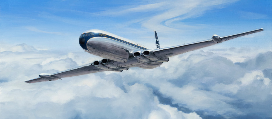 The Jet Age - An extract from BOAC &  THE GOLDEN AGE OF FLYING.