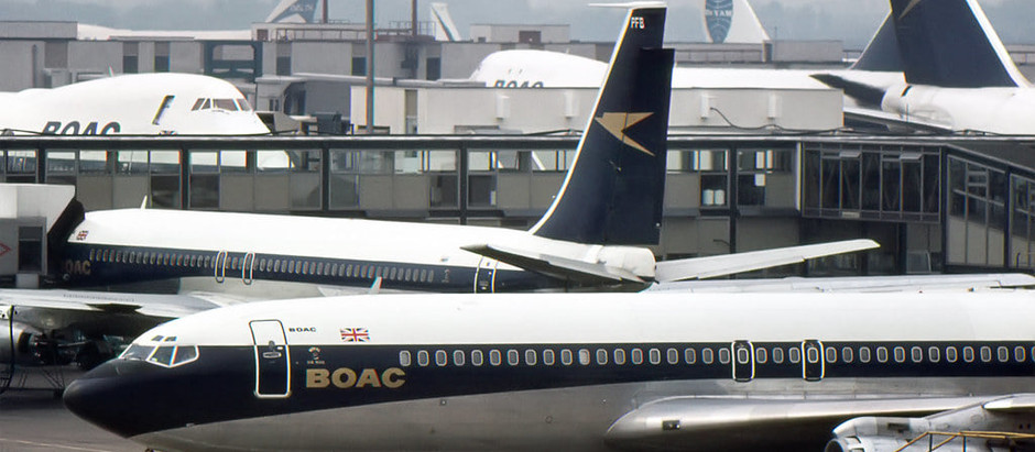 An extract from BOAC AND THE GOLDEN AGE OF FLYING.
