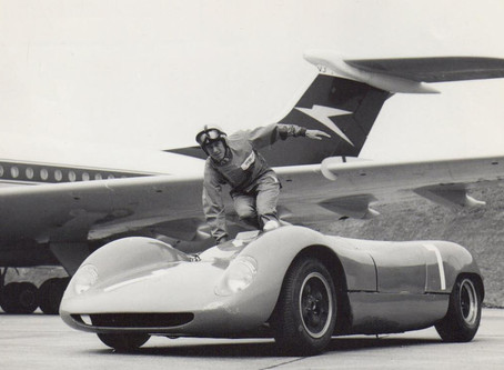 Hugh Dibley, BOAC pilot and racing driver...