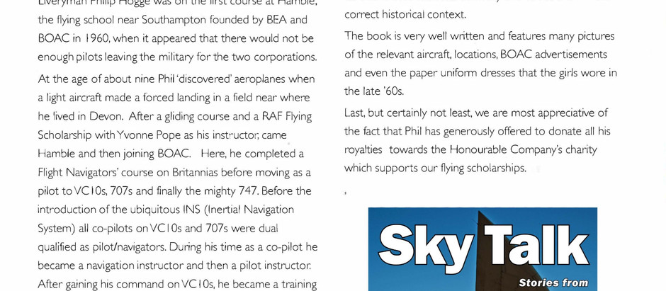 Review of Sky Talk in Air Pilot