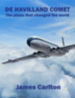 Dust Jacket - De Havilland Comet - The j