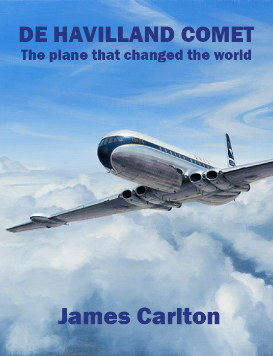 Dust Jacket - De Havilland Comet - The j