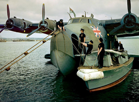 An extract from: The Golden Age of Flying Boats by Peter Pigott