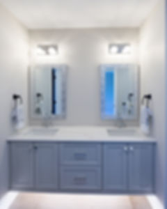 Staged Guest Bathroom
