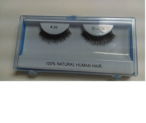 Human Hair Eyelashes #20