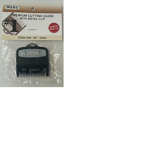 """Wahl Premium Cutting Guide with Metal Clip #1 (1/8""""- 3.0mm)"""