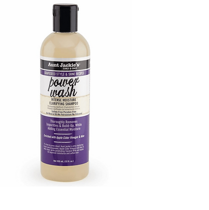 Aunt Jackie's Grapeseed Power Wash Intense Moisture Shampoo 12oz.