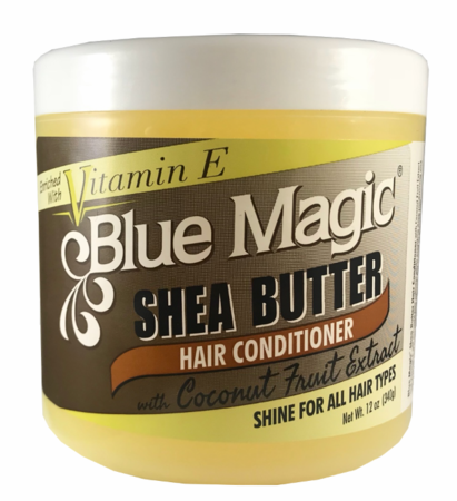 Blue Magic Shea Butter Hair Conditioner Enriched with Vitamin E 12 oz