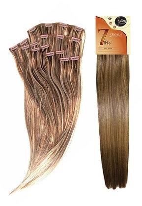"""Fashion Source Futura 7pcs Clip-In Hair 18"""""""