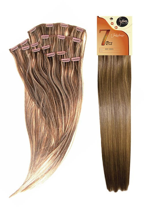 Fashion Source Futura 7pcs Clip-In Hair 18""