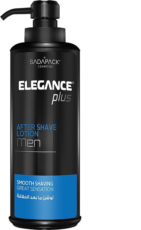 Elegance Plus After Shave Lotion for Men 500ml 16.7oz Blue
