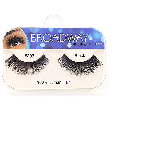 Broadway Human Hair Eyelashes #203