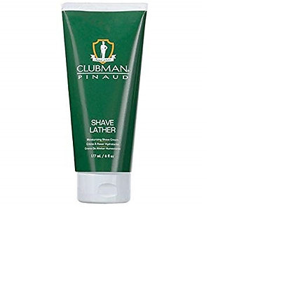 Pinaud Clubman Shave Lather Moisurizing Shave Cream 6 oz