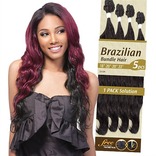 Outre Batik Duo Premium Multi Blend Weave Brazilian Bundle Hair 5Pcs