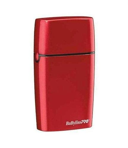 BaByliss PRO FOILFX02 Red Cordless Metal Double Foil Shaver FXFS2R