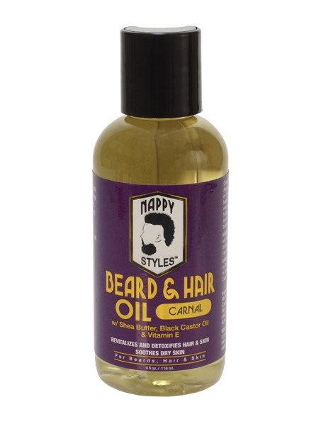 Nappy Styles Beard & Hair Oil Carnal 4 oz