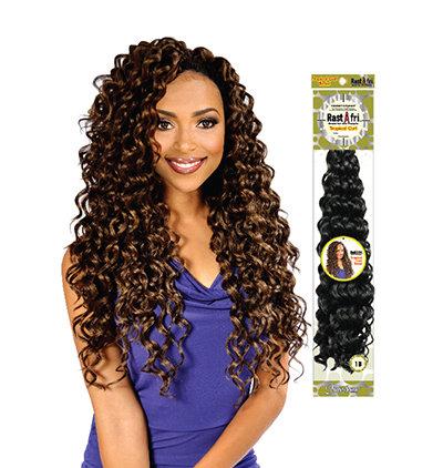 RastAfri Tropical Curl Braid