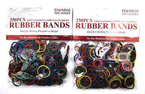 Donna 300 Rubber Bands Asst