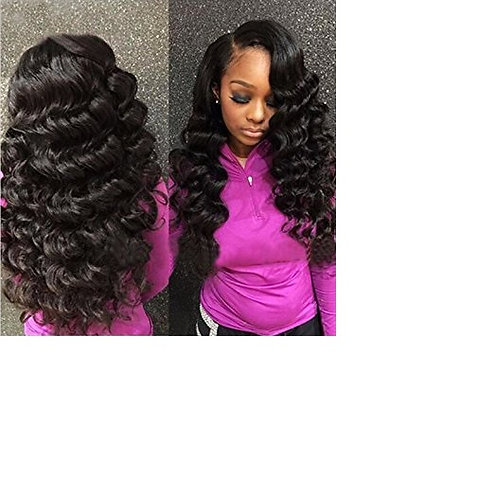 360 Lace Frontal Virgin Hair - Loose Wave