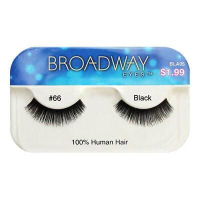 Broadway Human Hair Eyelashes #66