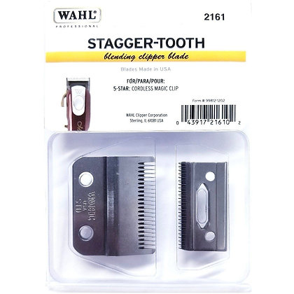 Wahl Stagger-Tooth Blade - 2-Hole- For Cordless Magic Clip #2161
